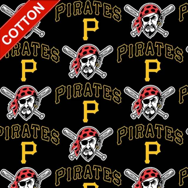 Pittsburgh Pirates MLB Cotton Fabric