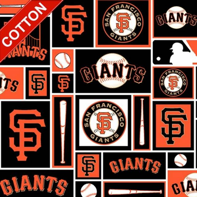 MLB San Francisco Giants Blocks Cotton