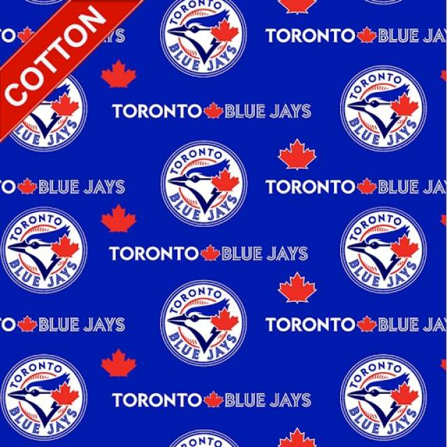 Toronto Blue Jays MLB Cotton Fabric