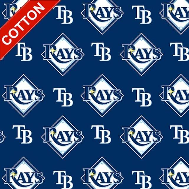 Tampa Bay Rays MLB Cotton Fabric