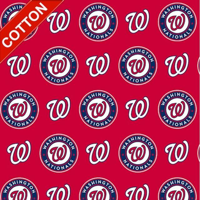 Washington Nationals MLB Cotton Fabric