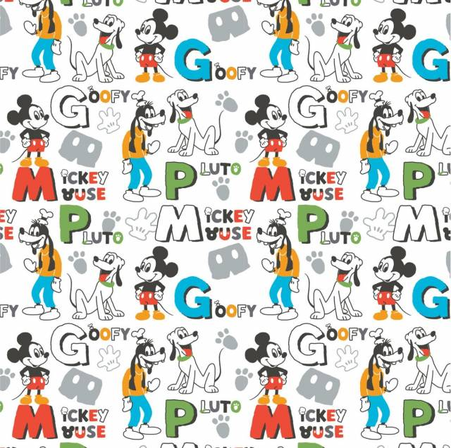 Disney Mickey Mouse Clubhouse Fleece Fabric