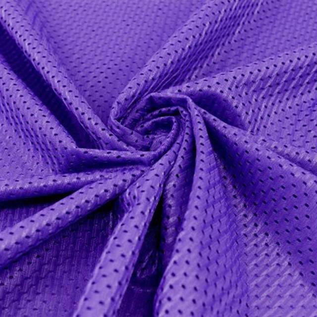 63ead45adef Purple Football Mesh Jersey Fabric - Athletic Sports Mesh Fabrics ...