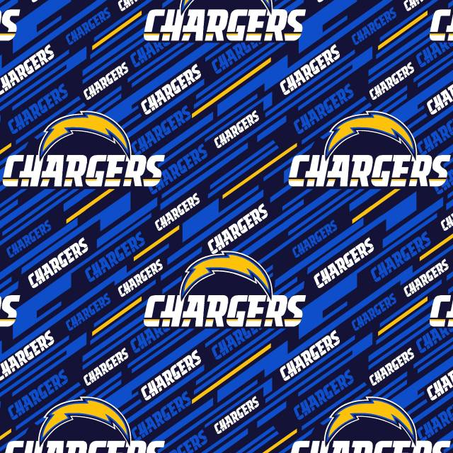 Los Angeles Chargers NFL Fleece Fabric