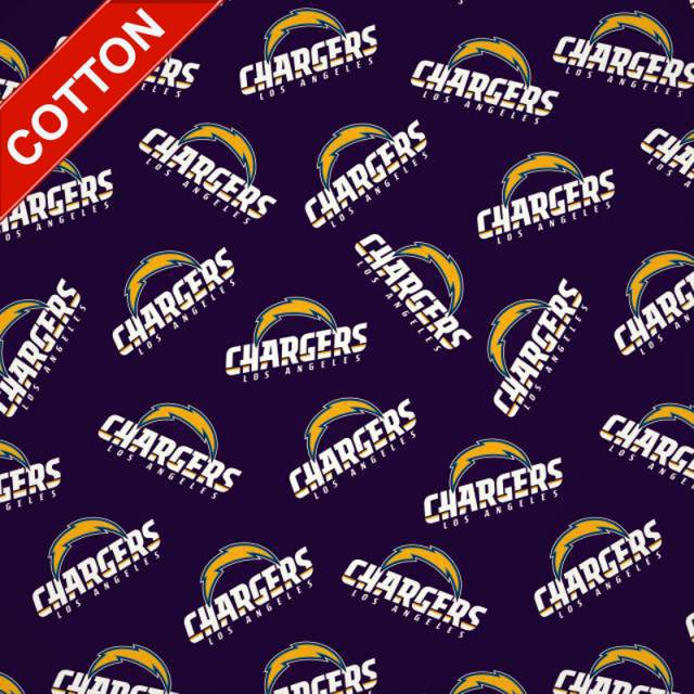 Los Angeles Chargers NFL Cotton Fabric