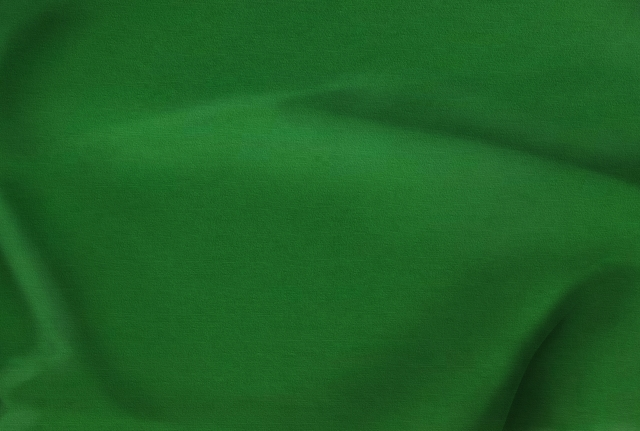 Kelly Green Polyester Poplin Fabric