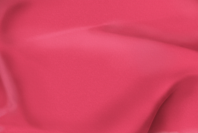 Coral Polyester Poplin Fabric