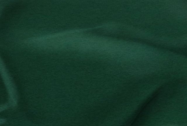 Hunter Green Polyester Poplin Fabric