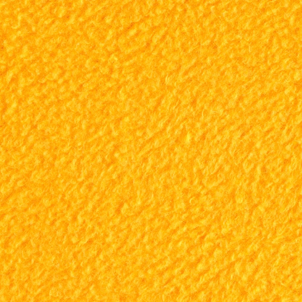 Gold Solid Fleece Fabric