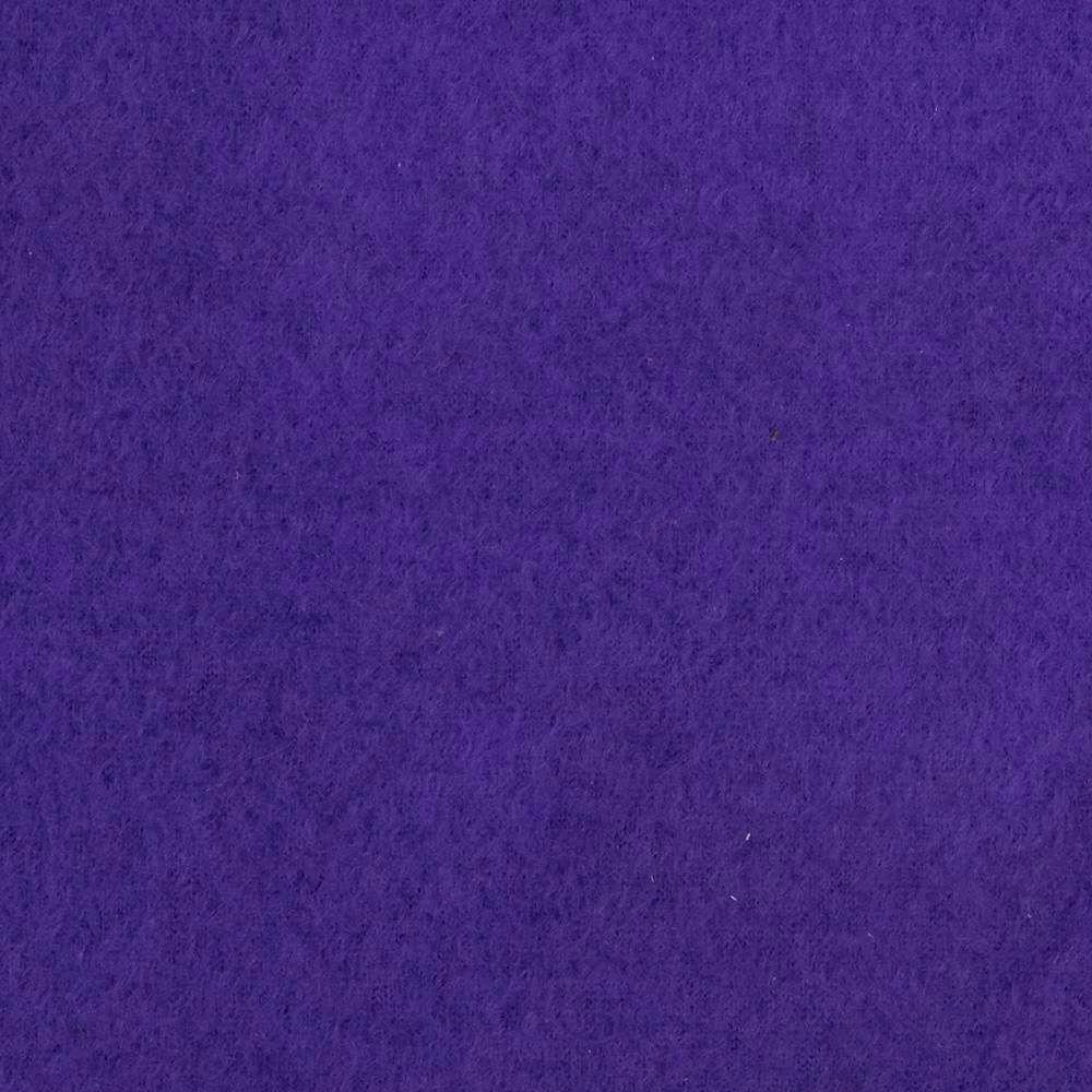 Purple Solid Anti Pill Fleece Fabric Fleece Fabric By