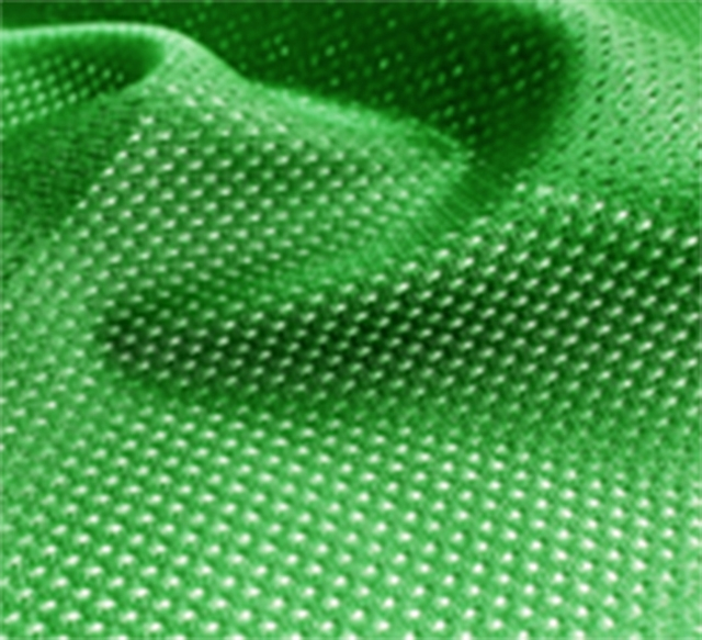Kelly Green Micro Mesh Jersey Fabric
