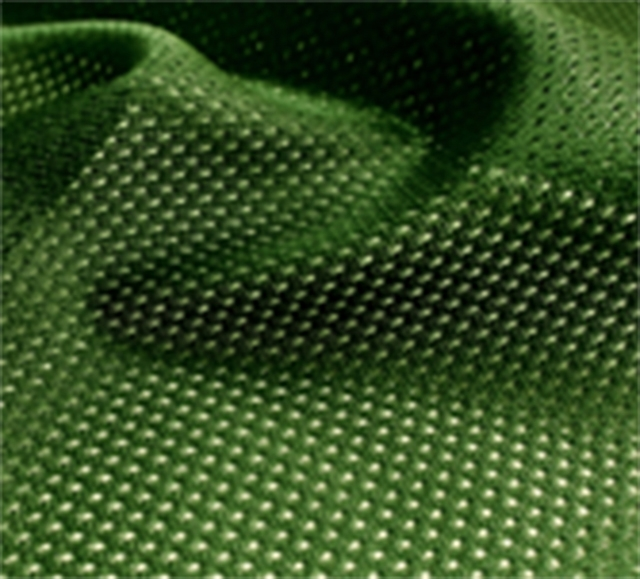 Hunter Green Micro Mesh Jersey Fabric