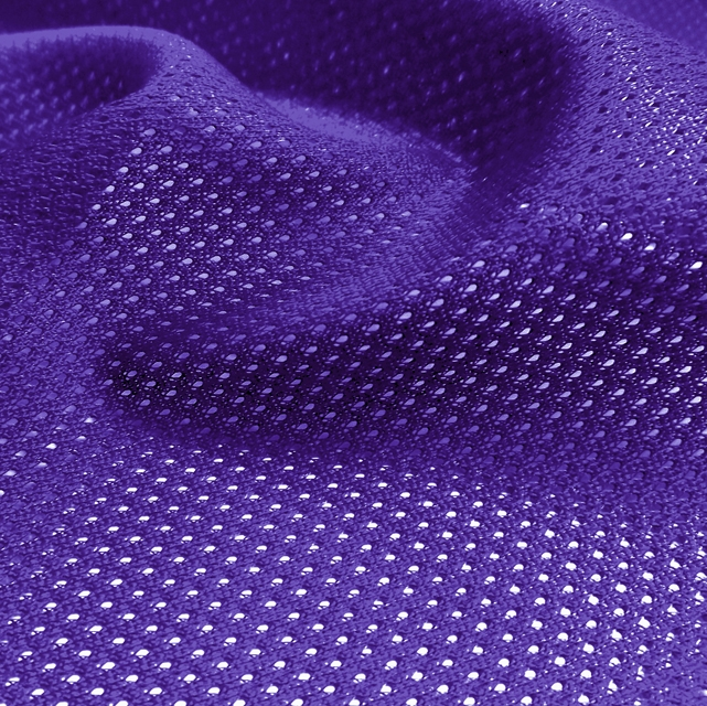 Purple Micro Mesh Jersey Fabric