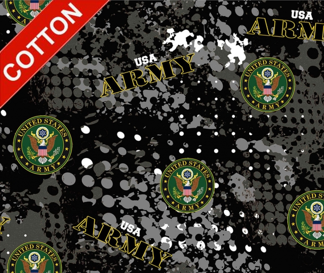 United States Army Digital Cotton Fabric