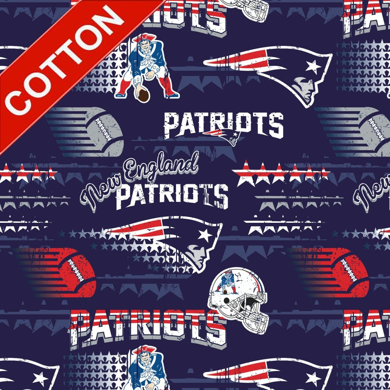 New England Patriots NFL Cotton Fabric