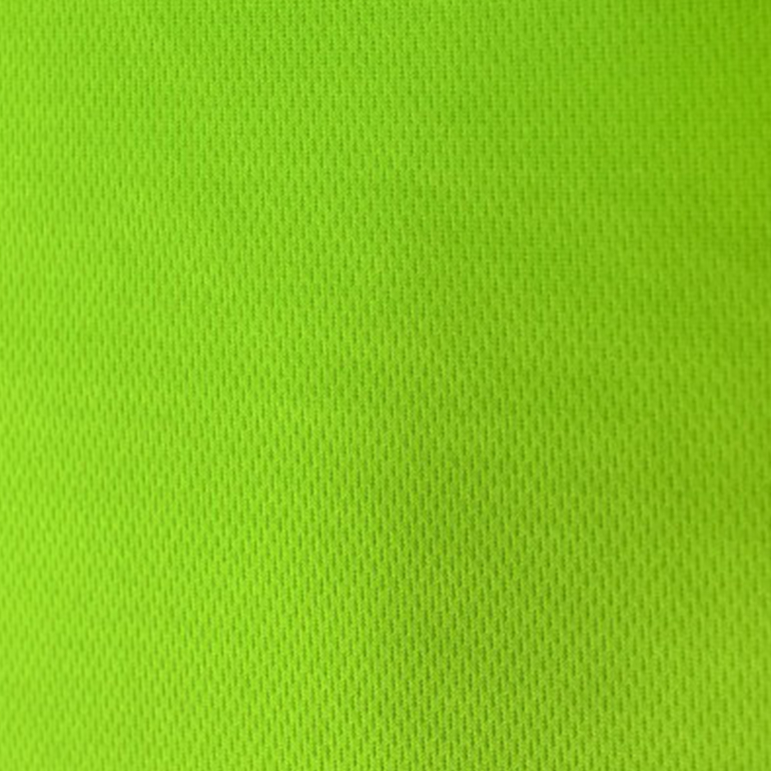 Lime Green Flat Back Dimple Mesh Fabric
