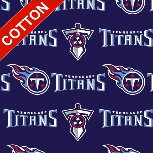 Tennessee Titans Allover NFL Cotton Fabric