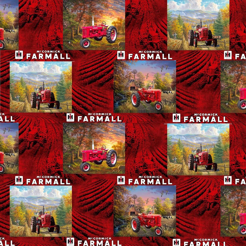 Farmall Patch Country Cotton Fabric