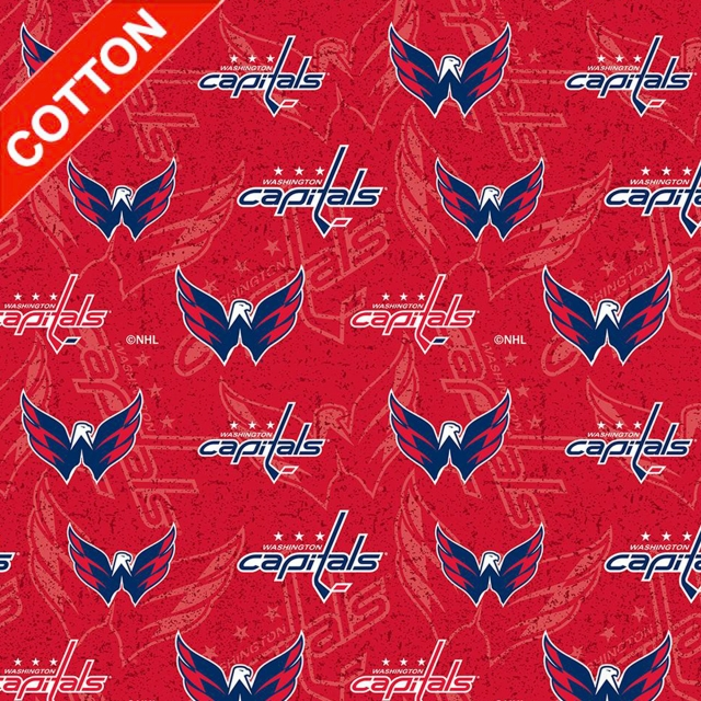 Washington Capitals NHL Cotton Fabric