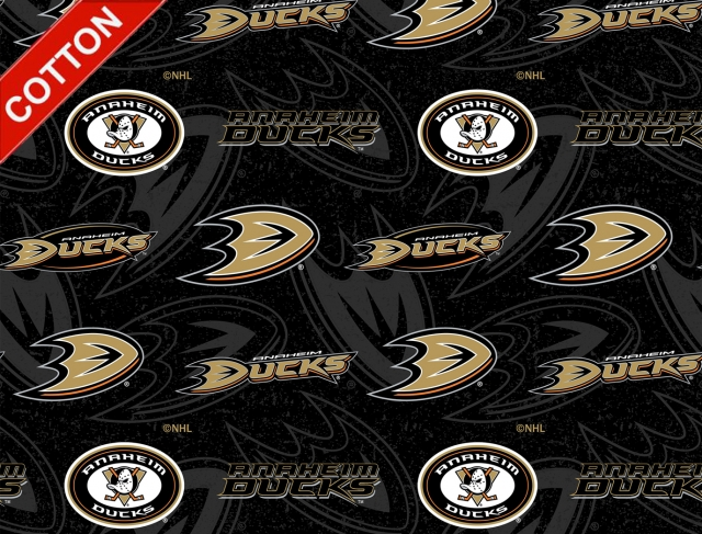 Anaheim Ducks NHL Cotton Fabric