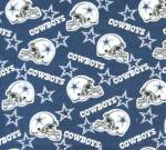 Dallas Cowboys Allovers NFL Fleece Fabric
