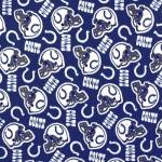 Indianapolis Colts Allovers NFL Fleece Fabric