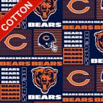 Chicago Bears NFL Cotton Fabric