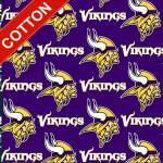 Minnesota Vikings NFL Cotton Fabric