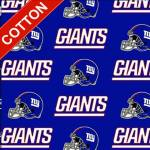 New York Giants NFL Cotton Fabric