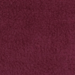 Burgundy Solid Anti-Pill Fleece Fabric