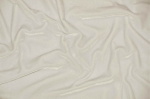 Ivory Stretch Velvet Fabric
