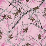 True Timber Conceal Pink Camo Fleece Fabric