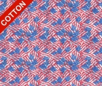 Military Flag Allover Cotton Fabric