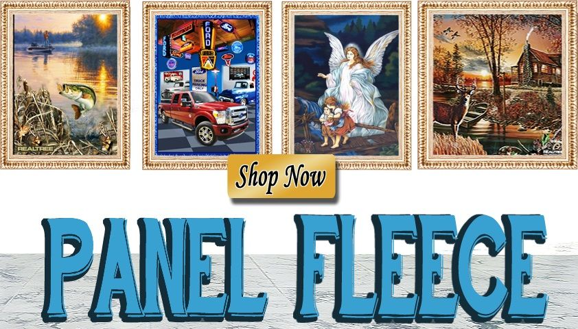 Fleece Fabric Panels