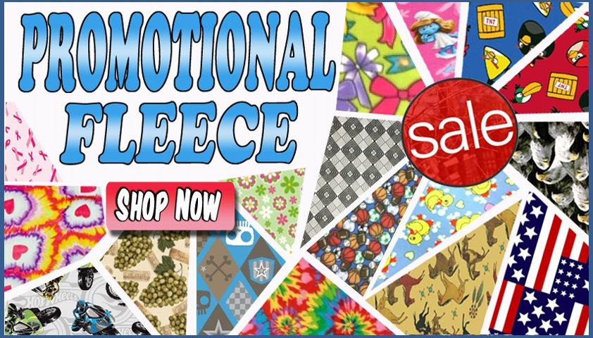 Clearance and Discounted Fleece Fabric